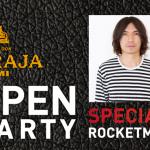 マハラジャミナミ・オープニングパーティー スペシャルゲストDJ ROCKETMAN / DJ DEKKA